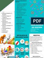 FOLLETO -INDICADORES DE GESTIÓN
