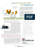 How To Cope with Shrinking Travel Budgets Using Virtual Exhibitions