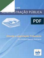 PNAP - Bacharelado - Direito Legislacao Tributaria 3 edicao WEB