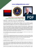 CIA Agent Speaks