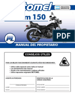 Custom 150 - Manual del Propietario