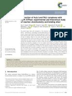 Au(III) and Pt(II) complexes with