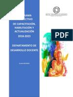 SGC FORMACIÓN CONTINUA Y PROFESIONALIZACIÓN