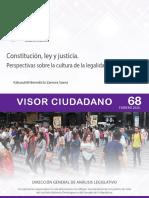 Constitución, ley y justicia. Febrero 2020.