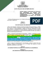 LEI_No._2.706_DE_3_DE_OUTUBRO_DE_2014 - ESTATUTO DOS SERVIDORES DA GUARDA CIVIL