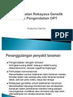 Rekayasa Genetik dalam Pengendalian OPT