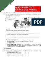 FORMAS SIMPLES Y COMPUESTAS DEL VERBO