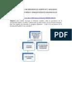PREVALENCIA DE DEFICIENCIAS AUDITIVAS Y ASOCIADAS