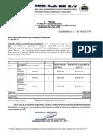 1.3.1 REQ. ECONOMICO  FORMATO DE COTIZACION