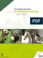 POLÍTICA Pública Distrital de Protección y Bienestar Animal -.pdf