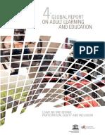 UNESCO_GRALE4 Quarto Relatório Global sobre Aprendizagem e Educação de Adultos