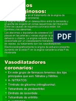 VIII - Fármacos Antianginosos