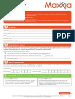 Venue Hire Claim Form