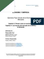 Ejercicios adicionales modelo de flujo circular y mercados.