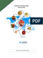 informe de exportaciones NICARAGUA