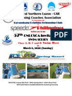 57th Cnlcsca Swim Series