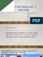 ALCANTARILLAS  Y SIFONES