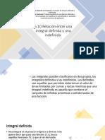 5.10 Relación Entre Una Integral Definida y Una Indefinida.