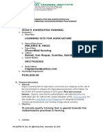 QF-PAD- 97  Rev 00  Effectivity Date  Nove. 16, 2019  LSA Project Proposal with Development Plan Format Newxxxxxxxxxxxxxxxxxx