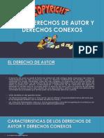 LEY DE DERECHOS DE AUTOR Y DERECHOS CONEXOS