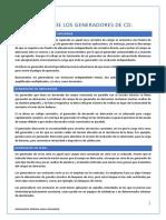 APLICACIONES DE LOS GENERADORES DE CORRIENTE DIRECTA