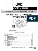 GY HM 100 Service Manual