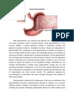 Acute Gastroenteritis Case Study