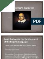 Shakespeare An Influence
