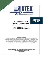 ELT Tester OPS Manual