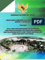 Peraturan Gubernur Kalteng Nomor 5 Tahun 2017 Tentang Tata Cara Peng, Pelaks, Dan Penatausahaan, PertanggungJawaban Dan Pelaporan Serta Monitoring Dan Evaluasi Hibah Dan Bantuan Sosial
