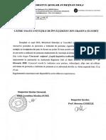 Nota ISJ 058 din 12.02.2020