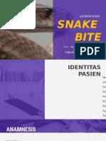 Laporan Kasus Snake Bite - Elka.pptx
