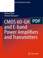 Zhao - CMOS 60-GHz and E-band Power Amplifiers and Transmitters