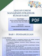 Tinjauan Umum Manajemen Strategik RS (Slide)