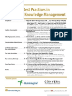 Enterprise Knowledge Management 5bNovember 20045d