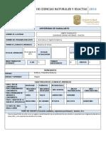 MECÁNICA DE SÓLIDOS Plan 2014
