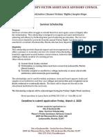 Scholarship Application 022120