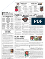 Black College Sports Page, Volume 17, Number 19