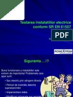 Testarea instalatiilor electrice conform EN61557 - UPB - 30.11.2010