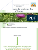 ppt-PFE-licence  chardon marie
