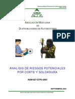 285067740-Analisis-de-Riesgos-Por-Corte-y-Soldadura-Nom-027-Stps-2000.pdf