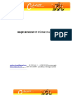 Requerimientos Técnicos Cachureos 2018.
