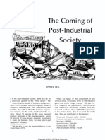 Coming of Post Industrial Society
