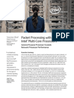 Packet Processing With Intel Multi-Core Processors