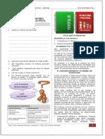 Sesión 1. Unidad 1 Reconociendo Mí Historia Personal y Mi Espacio Social. Institución Educativa Miguel Grau - Abancay Ficha de Trabajo Hge_1 - PDF Free Download
