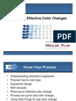 Moulds Plus Effective Color Changes