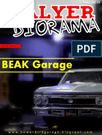 Talyer Diorama - Volume III - Beak Garage