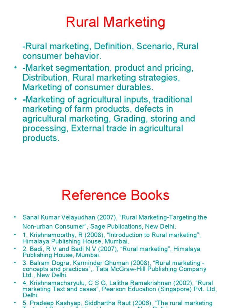 rural marketing new fertilizer retail