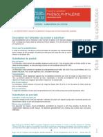 Substituants Phénol phtaléine