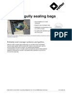 Vetter Compact Gully Sealing Bags